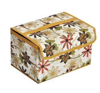 atorakushon gold Mini Cosmetic Box Jewellery Make up Organiser Necklace Pouch Vanity Box Traveling Kit for Women