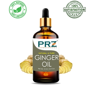 Ginger Essential OilPure Natural & Therapeutic Grade Oil For Aromatherapy Body Massage, Skin Care & Hair Care