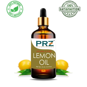 Lemon Essential OilPure Natural & Therapeutic Grade Oil For Aromatherapy Body Massage, Skin Care & Hair Care
