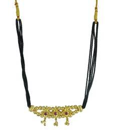 Black Mani Thushi Mangalsutra