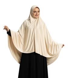 Mehar Hijab's Modest Women's Long Hijab iCRA Feel Good Fabric ZAKIA HIJAB Size -L