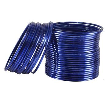 Blue Crystal Bangles And Bracelets