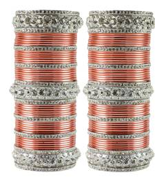 Buy Brown Crystal bangles-and-bracelets bangles-and-bracelet online
