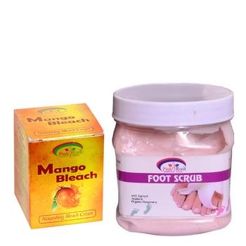 500gm Foot Scrub  With 50gm Mango Bleach