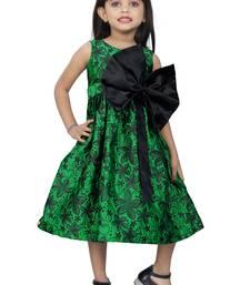 Girls Green Frock