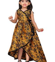 Kids Yellow Designer Dress