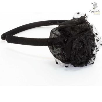 Royal Black Hairband