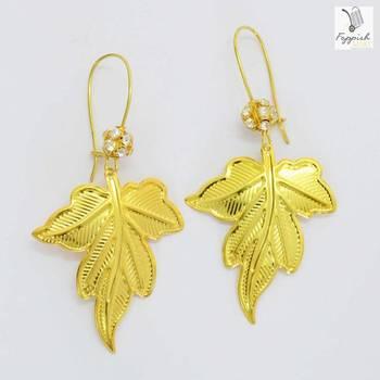 Golden Autumn Earrings