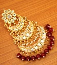 Red Ruby Maang-Tikka