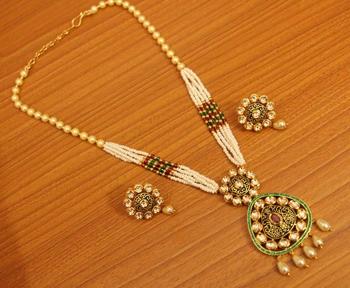 Black Ruby Necklace-Sets