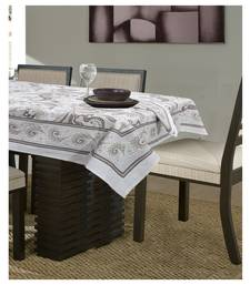 Portia 6 Seater Dining Table Cover with Napkins by Home Affairs
