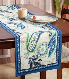 Portia Table Runner for Centre Table / Dining Table, Blue