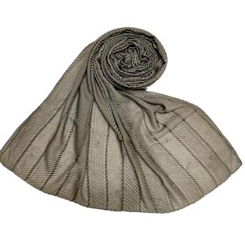 Grey  Premium Cotton Striped Collection