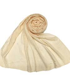 Cream  Premium Cotton Striped Collection
