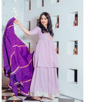 Lilac Purple Suit Set