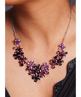 blossom necklace set