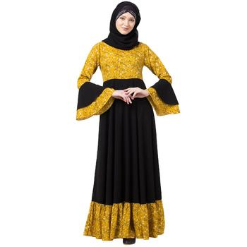 BT-DRESS-006-Mustard-Black