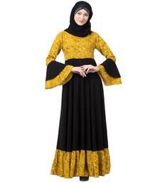 BT-DRESS-006-Mustard-Black