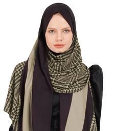 Justkartit BSY Korean Material Islamic Wear Printed Hijab Scarf Dupatta