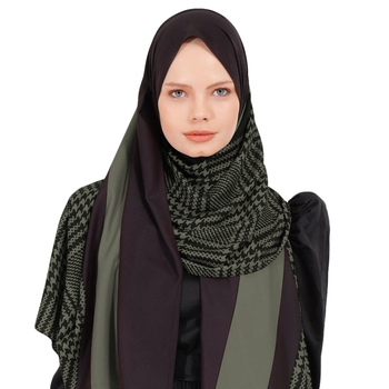 Justkartit BSY Korean Fabric Printed Scarf Hijab Dupatta For Women