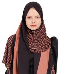 Justkartit Women's BSY Korean Fabric Daily Wear Printed Hijab Scarf