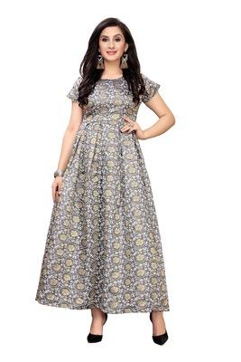 Women's Festive Wear Heavy Rayon Gown