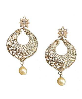 Gold Antique Earring