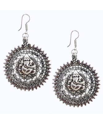 Silver Antuqie Earring