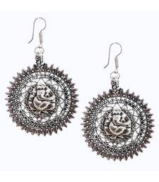Silver Antuqie Earring