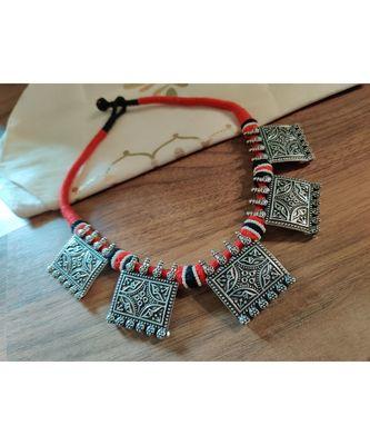 Tribal Tassel Necklace set