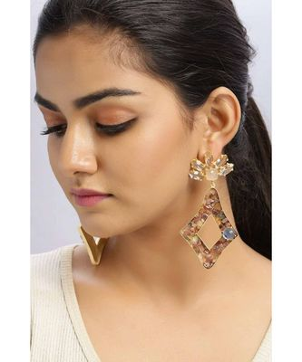 Clear Tourmaline Congruous earrings