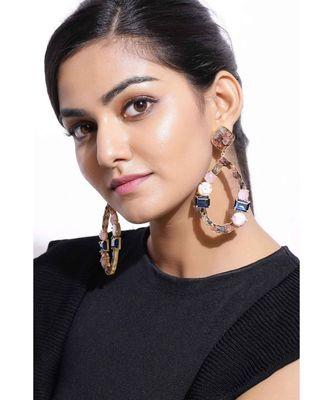 Blue Tourmaline Droplets earrings