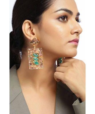 Voguish Fern Trinket earrings