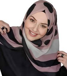 Justkartit Casual Wear Georgette Fabric Printed Hijab Scarf