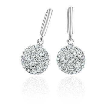 Mahi Pretty Drops Rhodium Bali