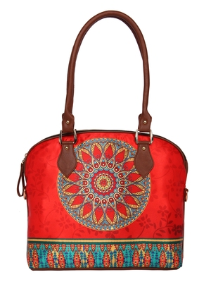 Multicolour Hand bag -Ethnic Collections of Bags