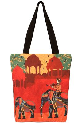 Multicolour Tote bag -Ethnic Collections of Bags