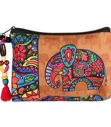 Multicolour Utility pouch -Ethnic Collections of Bags