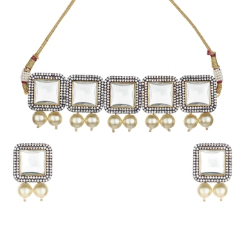 Royal White cubic zirconia necklace-sets