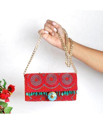 The Boho Beaded Bag
