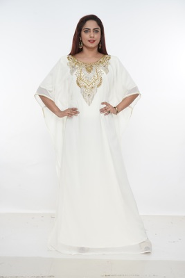 Dubai Kaftan Women Dress Long Gown Farasha Wear Jalabiya Islamic dress Magribi wear