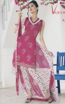 Crepe dress material elegant designer unstitched salwar suit d.no 5192