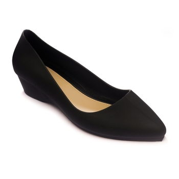 TRENDS & TRADES Black High Heeled Shoes For Women