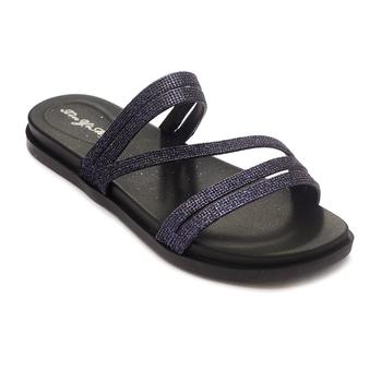 TRENDS & TRADES Black Flip Flops Sandal For Women