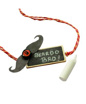 """Beardo Bro Rakhi for Brother """"Personalize it with your Brother`s name """" Chalkboard special Rakshabandhan 2020"""