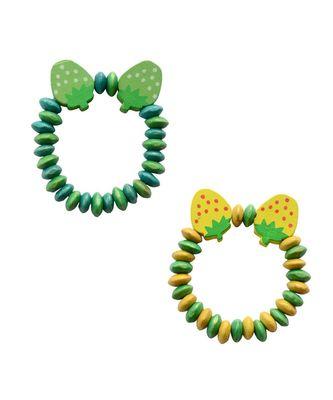 Cute  Strawberry  Bracelet cum Rakhis for Sister/  Kids - Set of 2