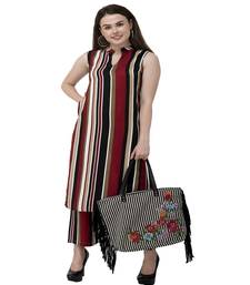 Multi Striped kurta palazzo set