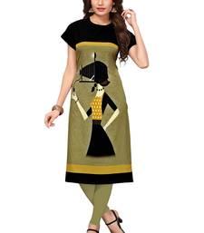 Women's Festive Wear Heavy Crepe Kurti