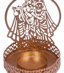 Radha Krishna Shadow Tealight Candle Holder