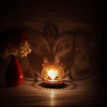 Durga Shadow Tealight Candle Holder